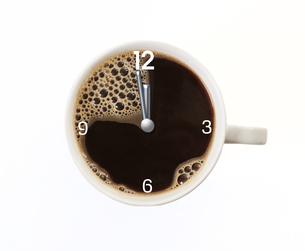 too late for coffeeの写真素材 [FYI00718034]