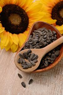 sunflower seedsの写真素材 [FYI00718433]