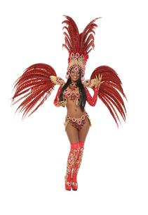 brazilian samba dancerの写真素材 [FYI00719364]