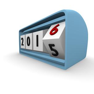 New Year Clock 2016の写真素材 [FYI00721329]