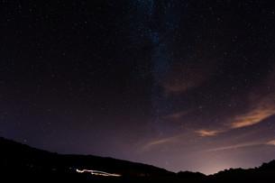 night sky over tenerifeの写真素材 [FYI00721647]