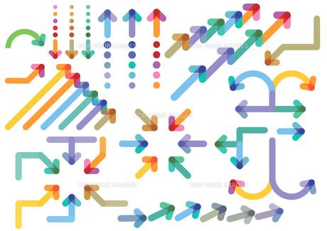 arrows directionsの写真素材 [FYI00722521]