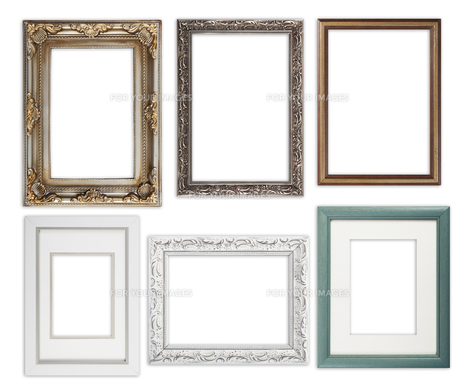 many picture framesの写真素材 [FYI00722940]