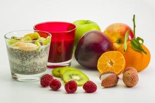 chiapudding fruit-1の素材 [FYI00724751]