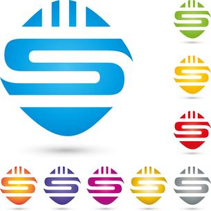 letter s,logo,alphabetの写真素材 [FYI00726183]
