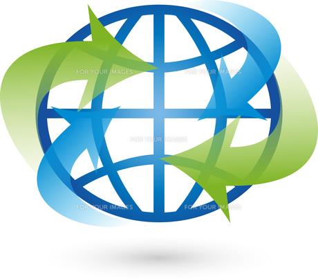 logo,earth,globe,globeの写真素材 [FYI00726496]