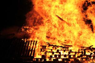 the huge fireの写真素材 [FYI00727115]
