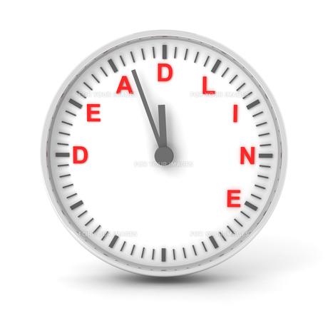 deadlineの写真素材 [FYI00727702]