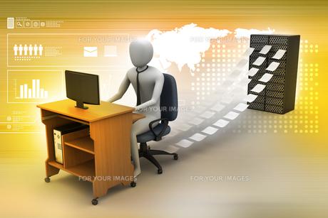 profession_businessの写真素材 [FYI00730997]
