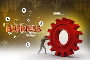 profession_businessの写真素材 [FYI00731350]