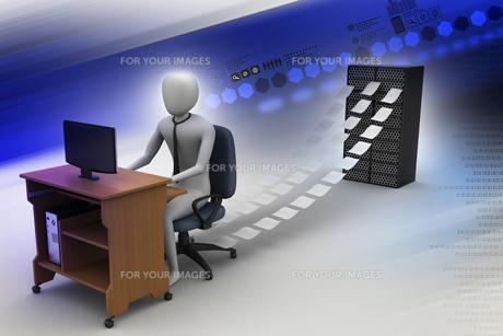 profession_businessの写真素材 [FYI00731458]
