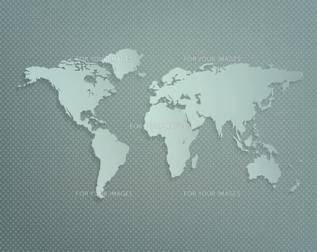 World Mapの写真素材 [FYI00733755]