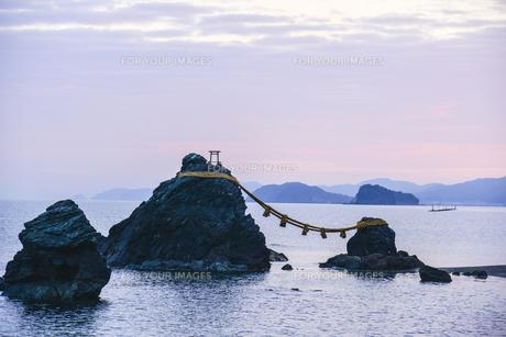 夫婦岩・屏風岩・鳥帽子岩の写真素材 [FYI00735251]