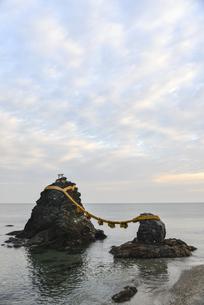 夫婦岩・屏風岩・二見浦の写真素材 [FYI00735259]
