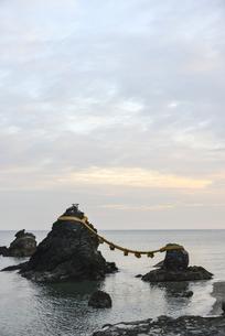 夫婦岩・屏風岩・二見浦の写真素材 [FYI00735306]