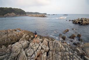 本州最南端串本の地磯の写真素材 [FYI00735702]