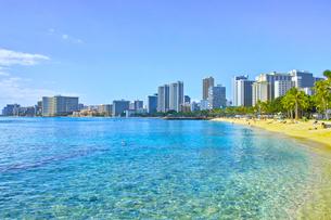 ハワイ ワイキキビーチの写真素材 [FYI00735754]