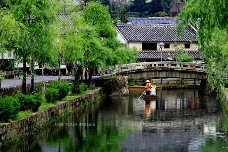 倉敷美観地区の風景の写真素材 [FYI00736041]
