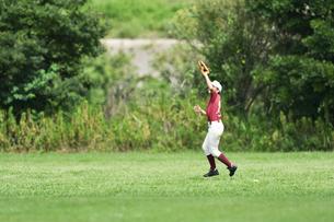 少年野球の練習の写真素材 [FYI00736556]