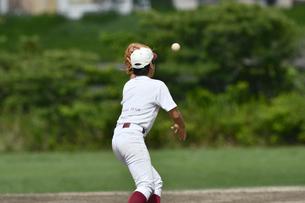 少年野球の練習の写真素材 [FYI00736557]