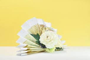 扇子ブーケの写真素材 [FYI00736956]