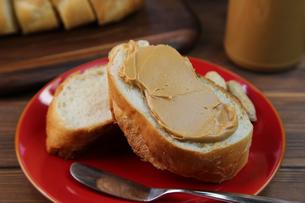 ピーナッツバターの写真素材 [FYI00737942]