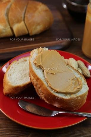 ピーナッツバターの写真素材 [FYI00737943]