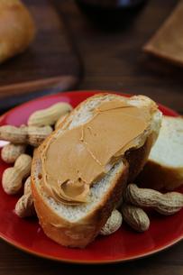 ピーナッツバターの写真素材 [FYI00737944]