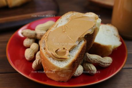 ピーナッツバターの写真素材 [FYI00737946]