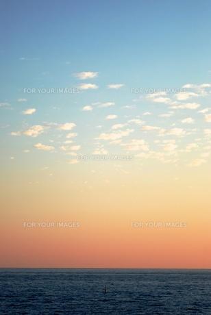 ニースの夕暮れの写真素材 [FYI00737994]