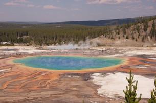 yellowstone national park,usaの写真素材 [FYI00739778]