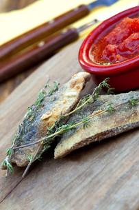 Sardinesの写真素材 [FYI00741541]