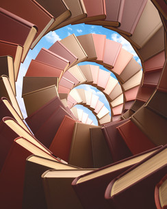 Spiral Booksの写真素材 [FYI00741576]