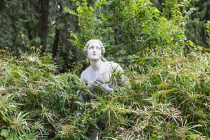 pincio fountain in park rome.の写真素材 [FYI00741769]
