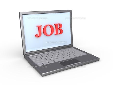 Find job onlineの写真素材 [FYI00741787]