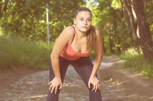 Fitness Healthy Lifestyle Young Womanの写真素材 [FYI00741839]