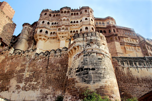 Mighty Meharongarh Fortの写真素材 [FYI00741840]