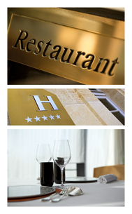 Food and luxury hotelsの写真素材 [FYI00741926]