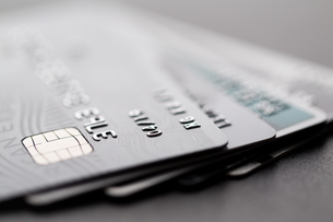 Group of credit cardの写真素材 [FYI00742327]