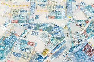 Group of Twenty Hong Kong dollarの写真素材 [FYI00742353]