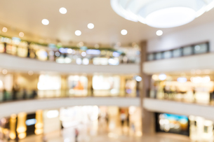 Blur background of Shopping plazaの写真素材 [FYI00742370]