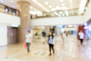 Blur background of Shopping mallの写真素材 [FYI00742376]