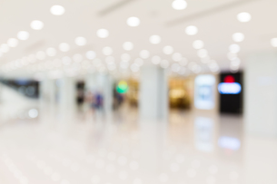 Blur background of shopping center backgroundの写真素材 [FYI00742379]
