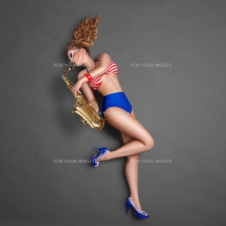 Emotional jazz.の写真素材 [FYI00742632]