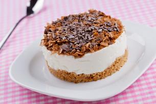 Chocolate Cheesecakeの写真素材 [FYI00742705]