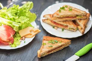 Cheese sandwichの写真素材 [FYI00742997]