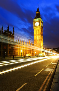 London spirit by nightの写真素材 [FYI00743062]
