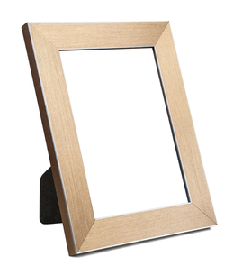 golden empty picture frameの写真素材 [FYI00743272]