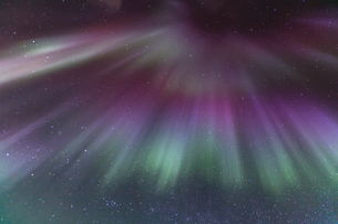 The Northern Light Aurora Icelandの写真素材 [FYI00743320]