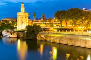 Golden Tower Sevilleの写真素材 [FYI00743340]